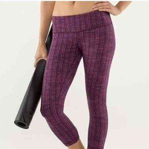 Lululemon Wee Wunder Under Crops